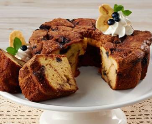 Small (28 oz) Blueberry Banana Coffee Cake