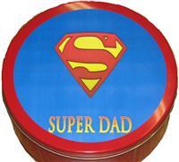 Small Super Dad Tin