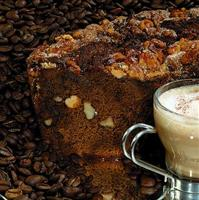 Coffee lovers beware - you won't be able to resist this cake!<BR> THIS CAKE CONTAINS WALNUTS.