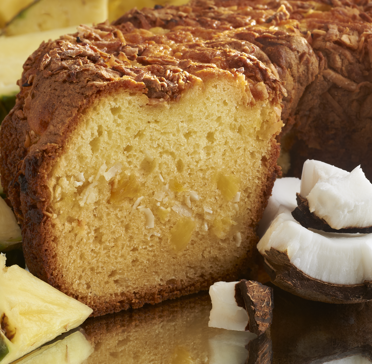 My Grandma's of New England Pineapple Coconut Coffee Cake