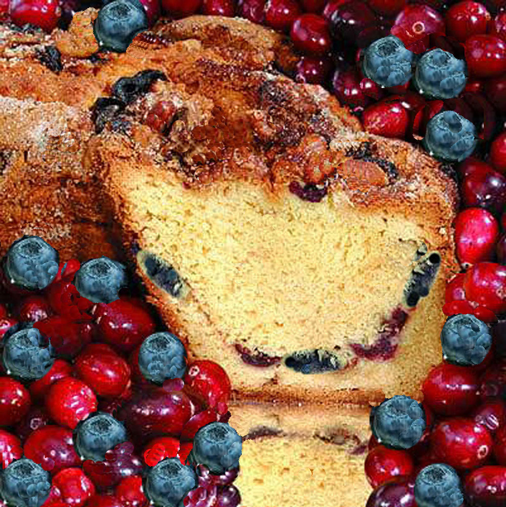 My Grandma's of New England Red, White, and Blue Patriot Coffee Cake