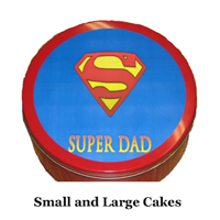 Super Dad Cake Tin