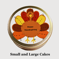 Turkey Cake Tin