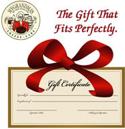 My Grandma's of New England Gift Certificates
