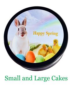 Large Green Spring Tin