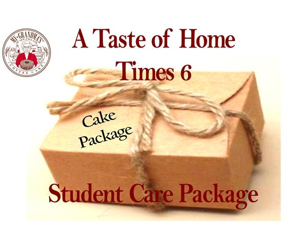 Student Care Package Gift Certificate for Small Cakes